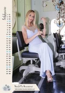 Calendario 2018 Miss Mamma Italiana - Febbraio