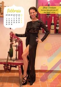 Calendario 2018 Miss Mamma Italiana Gold - Febbraio