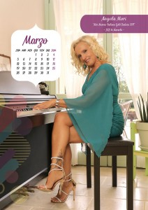Calendario 2018 Miss Mamma Italiana Gold - Marzo