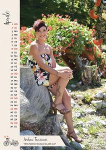 Calendario 2018 Miss Mamma Italiana - Aprile
