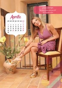 Calendario 2018 Miss Mamma Italiana Gold - Aprile