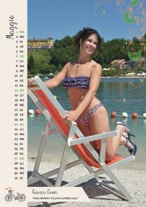 Calendario 2018 Miss Mamma Italiana - Maggio