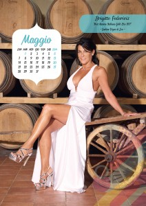Calendario 2018 Miss Mamma Italiana Gold - Maggio