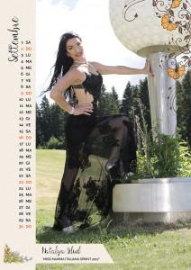 Calendario 2018 Miss Mamma Italiana - Settembre