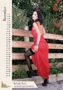 Calendario 2018 Miss Mamma Italiana - Novembre