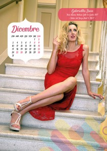 Calendario 2018 Miss Mamma Italiana Gold - Dicembre