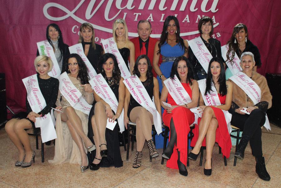Premiate alla selezione di Miss Mamma Italiana 2018 a Roma