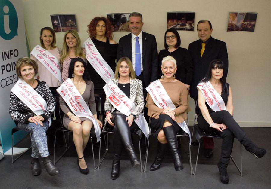 Le protagoniste della Festa degli Auguri di Natale a Cesena | Miss Mamma Italiana