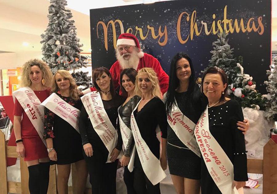 Le mamme alla Festa degli Auguri di Natale a Piove di Sacco Padova | Miss Mamma Italiana