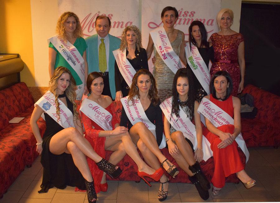 Premiate selezione Faenza Miss Mamma Italiana