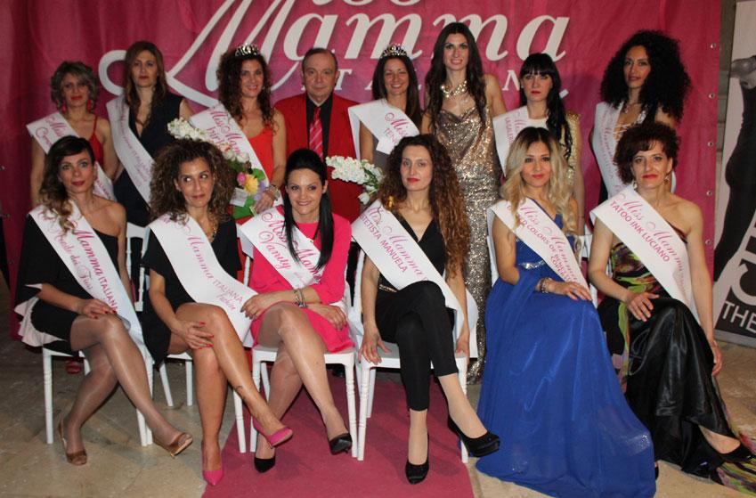 Mamme premiate selezione concorso Miss Mamma a Lecce