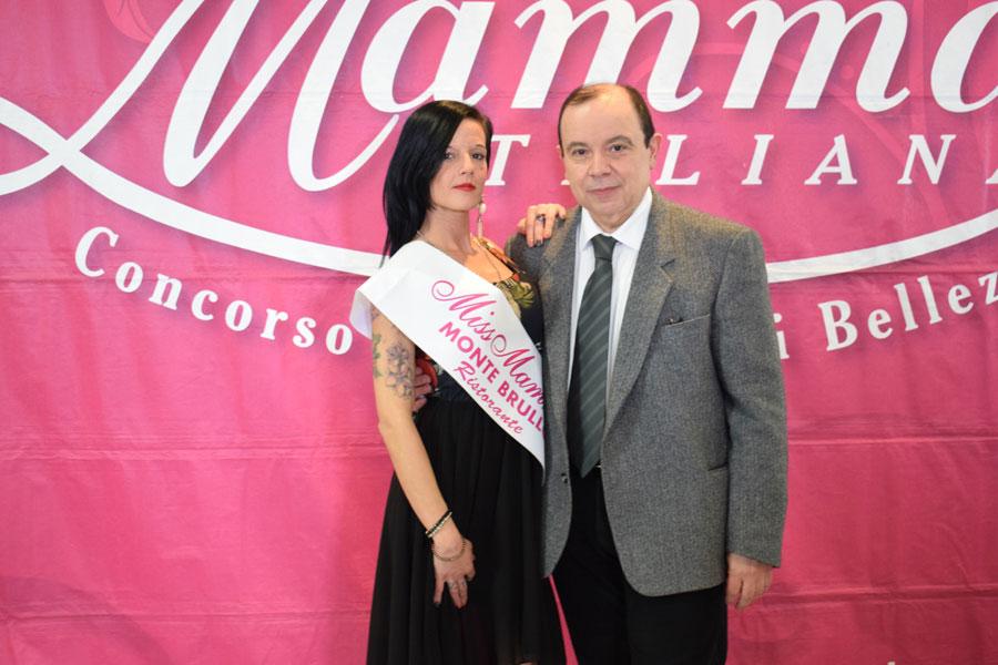 Una delle vincitrici della selezione di Faenza, Ravenna assieme a Paolo Teti