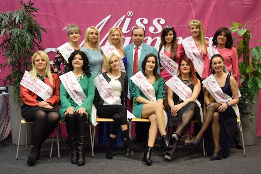 Le Vincitrici selezione Miss Mamma Italiana 2018 a San Donà di Piave, Venezia