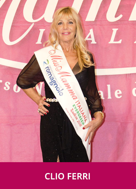 Clio Ferri - Miss Mamma Italiana Evergreen Radiosa 2018