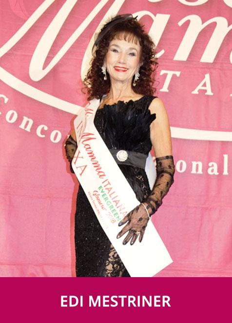 Edi Mestriner - Miss Mamma Italiana Evergreen Glamour 2018