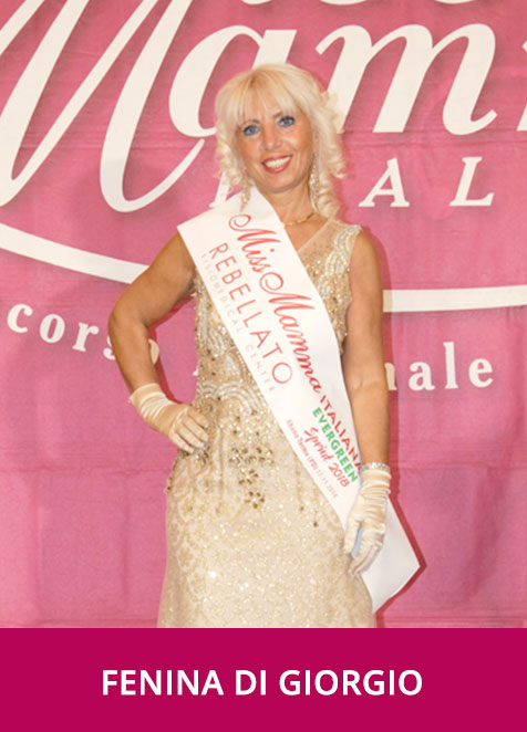 Fenina di Giorgio - Miss Mamma Italiana Evergreen Sprint 2018