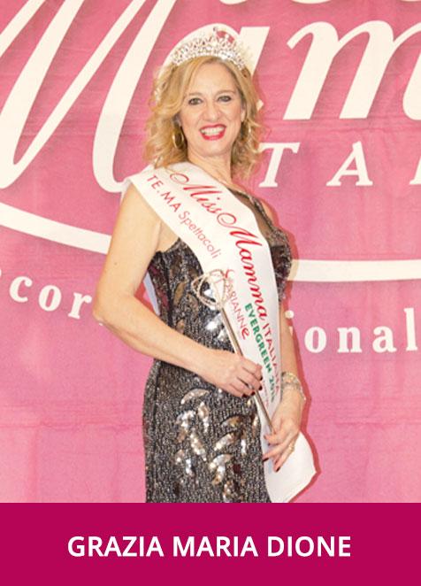 Grazia Maria Dione - Miss Mamma Italiana Evergreen 2018