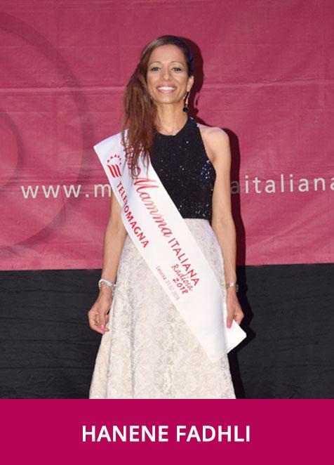 Hanene Fadhli Miss Mamma Italiana Radiosa 2018