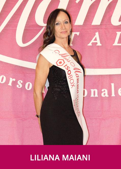 Liliana Maiani - Miss Mamma Italiana Evergreen Eleganza 2018