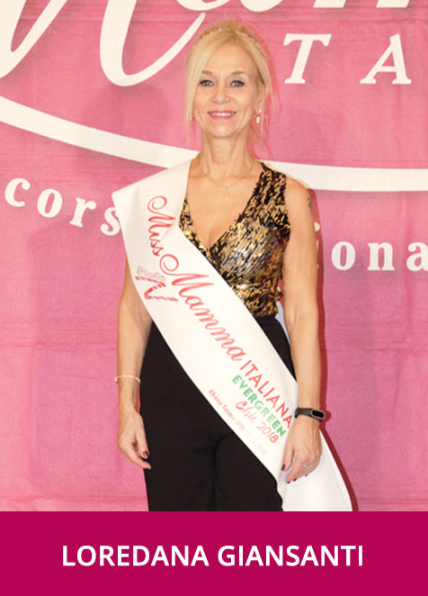 Loredana Giansanti - Miss Mamma Italiana Evergreen Chic 2018