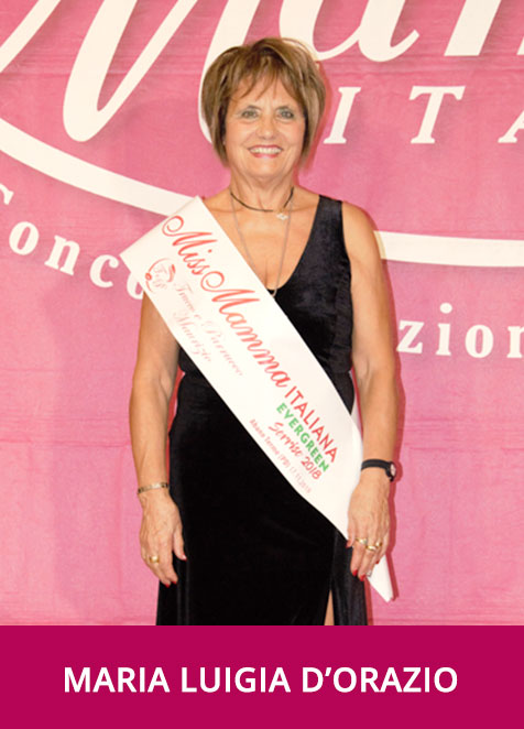 Maria Luigia d'Orazio - Miss Mamma Italiana Evergreen Sorriso 2018