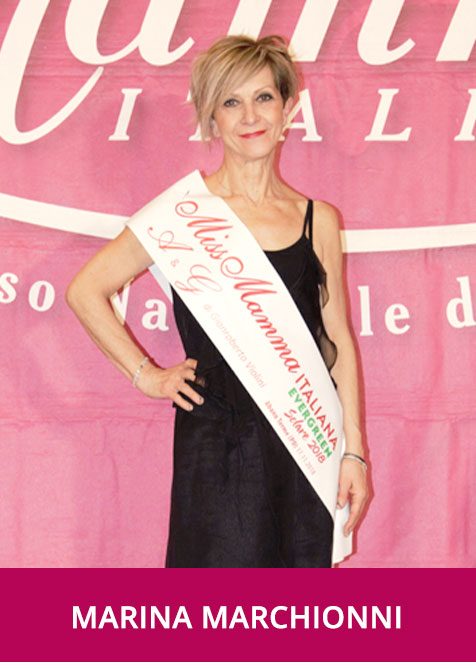 Marina Marchionni - Miss Mamma Italiana Evergreen Solare 2018