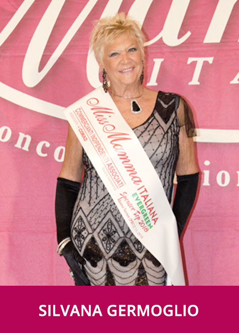 Silvana Germoglio - Miss Mamma Italiana Evergreen Sponsor Top 2018