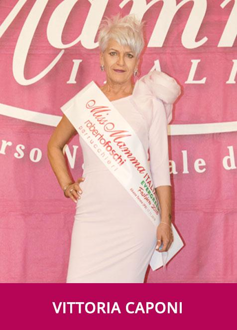 Vittoria Caponi - Miss Mamma Italiana Evergreen Fashion 2018