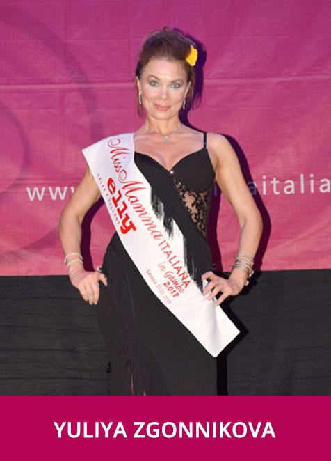 Yuliya Zgonnikova Miss Mamma Italiana In Gambe 2018