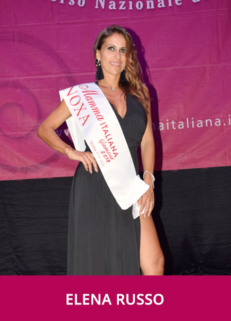 Elena Russo Miss Mamma Italiana Glamour 2018