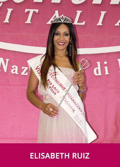 Elisabeth Ruiz - Miss Mamma Italiana Gold 2018