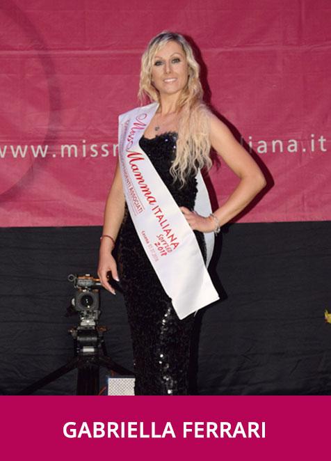 Gabriella Ferrari Miss Mamma Italiana Sorriso 2018