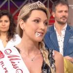 Giorgia Granata Miss Mamma Italiana 2017 ai Fatti Vostri Raidue