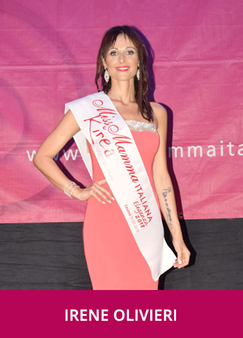 Irene Olivieri Miss Mamma Eleganza 2018