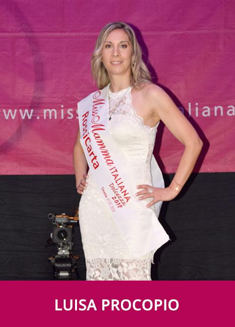 Luisa Procopio Miss Mamma Italiana Dolcezza 2018