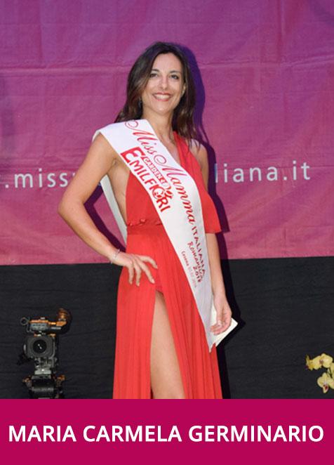 Maria Carmela Germinario Miss Mamma Italiana Romantica 2018