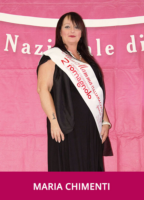 Maria Chimenti Miss Mamma Italiana GOLD Sponsor Top