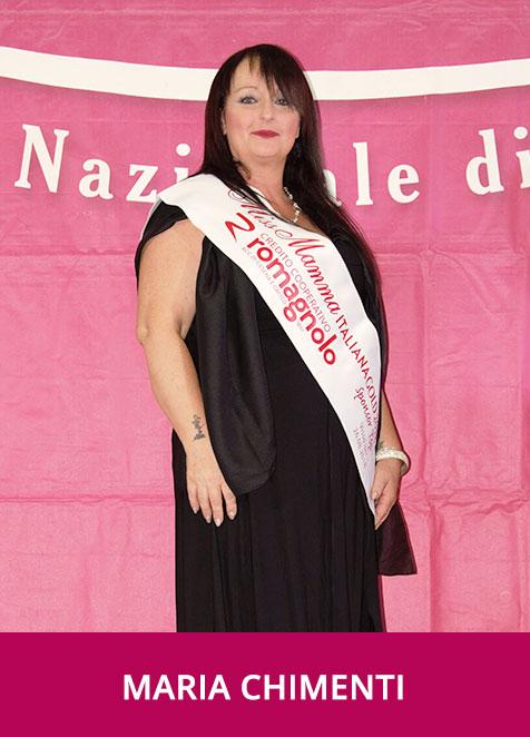 Maria Chimenti Miss Mamma Italiana GOLD Sponsor Top