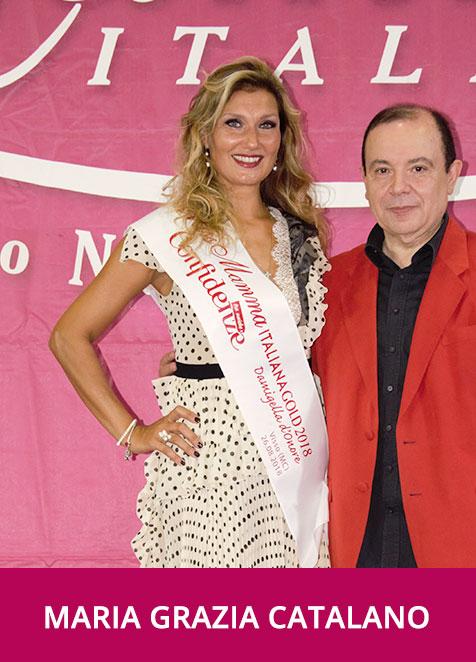 Maria Grazia Catalano Miss Mamma Italiana Gold  Damigella d'Onore