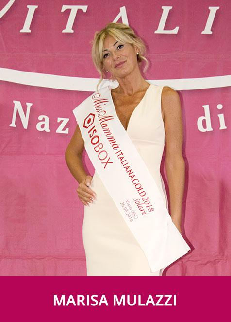 Marisa Mulazzi Miss Mamma Italiana GOLD Solare