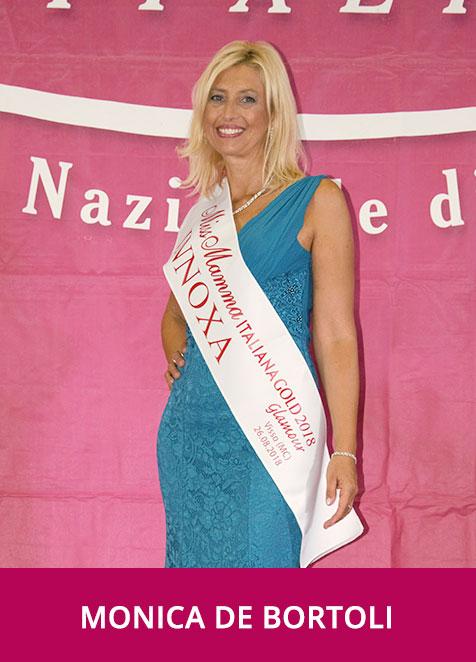 Monica de Bortoli Miss Mamma Italiana GOLD Glamour