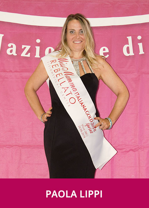Paola Lippi Miss Mamma Italiana GOLD Sprint