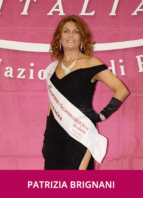 Patrizia Brignani Miss Mamma Italiana GOLD Radiosa