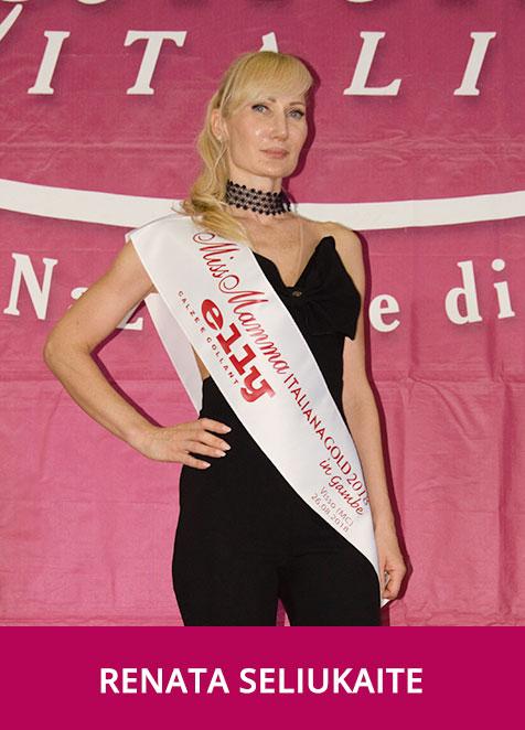 Renata Saliukaite Miss Mamma Italiana GOLD Gambe
