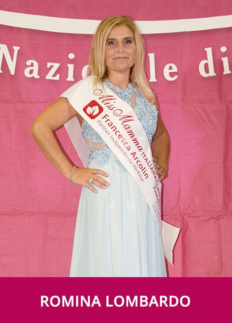 Romina Lombardo Miss Mamma Italiana GOLD Romantica