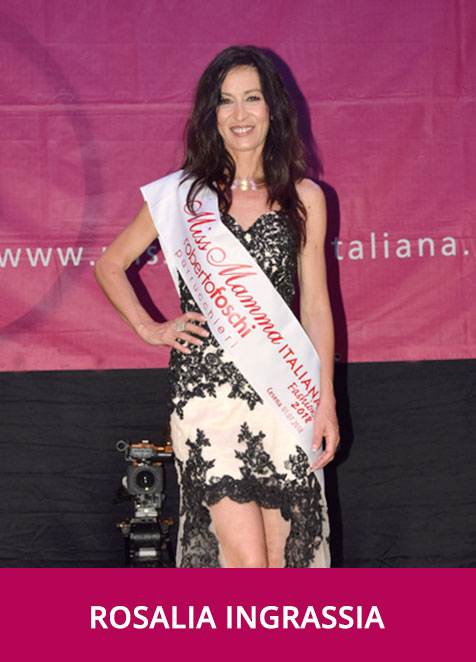 Rosalia Ingrassia Miss Mamma Italiana Fashion 2018