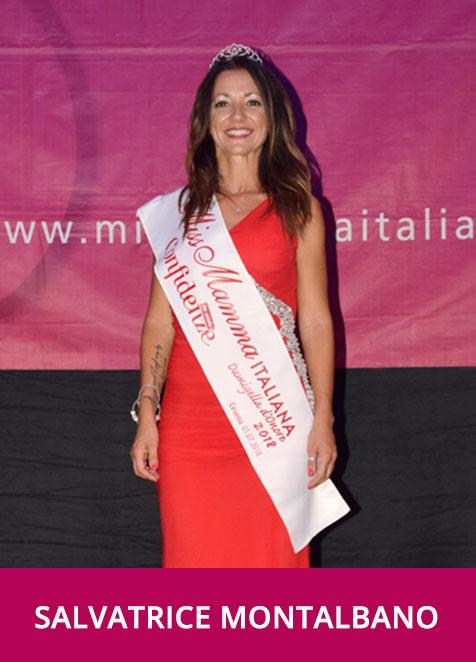 Salvatrice Montalbano Miss Mamma Italiana Damigella d'Onore 2018