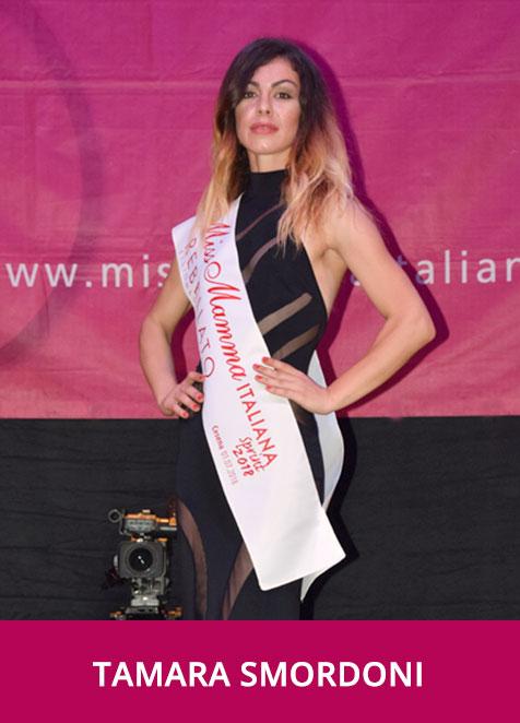 Tamara Smordoni Miss Mamma Italiana Sprint 2018