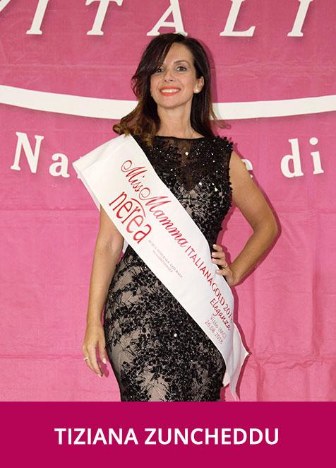 Tiziana Zuncheddu Miss Mamma Italiana GOLD Eleganza