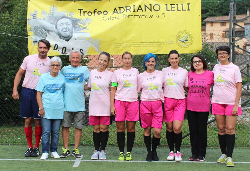 La rappresentativa della Nazionale di Calcio di Miss Mamma Italiana